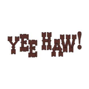 Yee Haw Clipart.