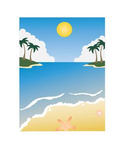 Beach Clipart Image.