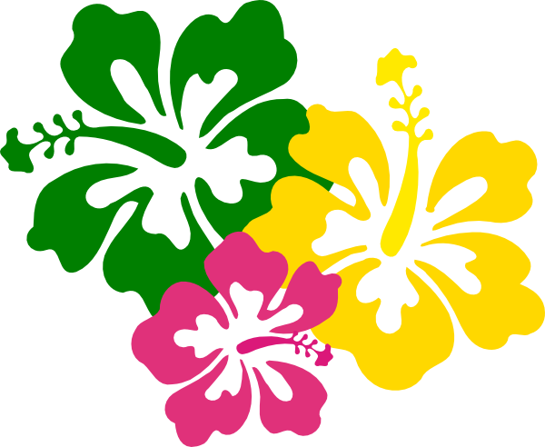 Cartoon hawaiian flowers clipart images gallery for free download.