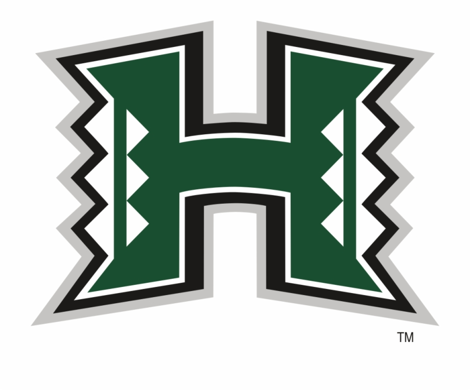 Hawaii Rainbow Warriors Logo.