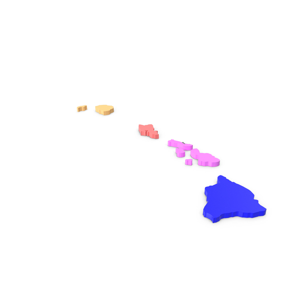 Hawaii Counties Map PNG Images & PSDs for Download.
