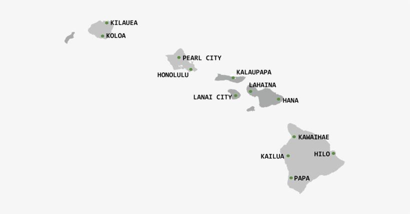 Hawaii Map.