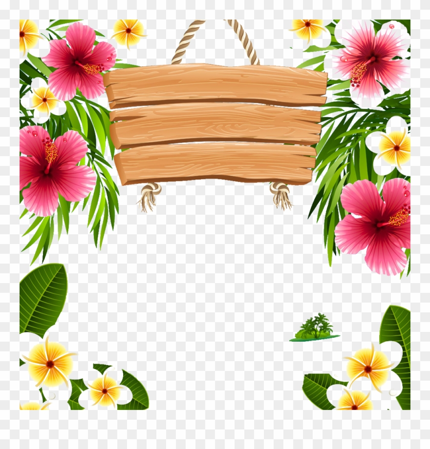 Hawaii Picture Frames Clip.