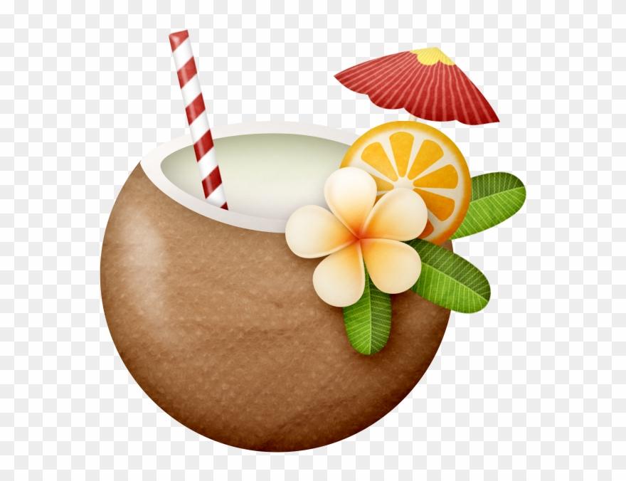 Coconut Clipart Hawaii.