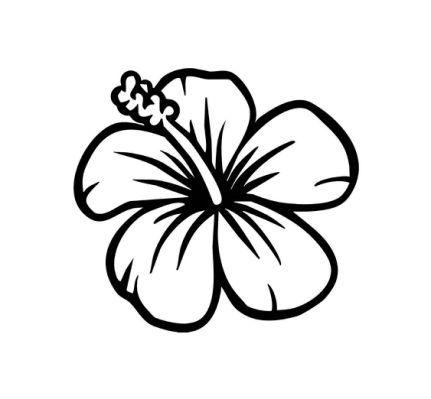 Easy To Draw Hawaiian Flowers.