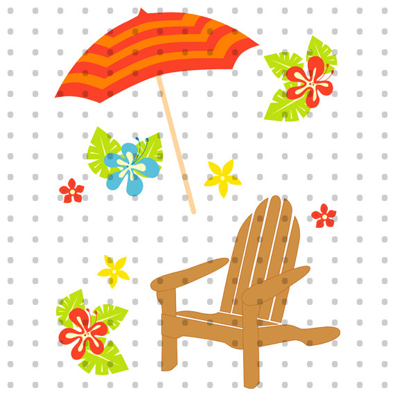 Hawaii Vacation Royalty Free Clipart Set from BellaromaRose on.