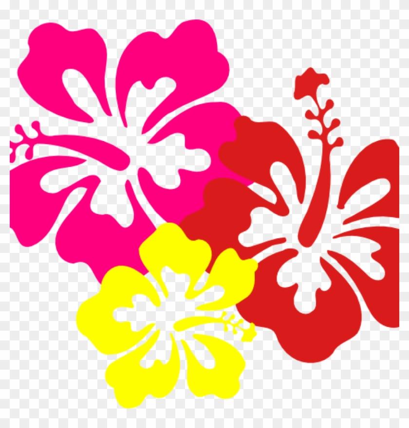 Hawaiian Border Clip Art Hawaiian Flower Clip Art Borders.