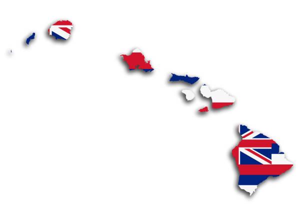 Best Hawaii Flag Illustrations, Royalty.
