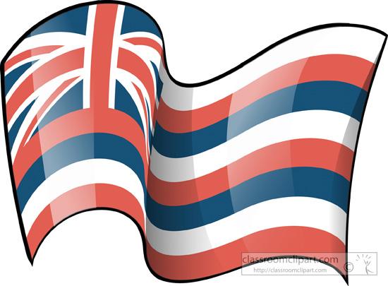 State Flags : hawaii.