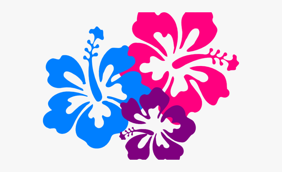 Hawaiian Flower Clipart Png #1351104.