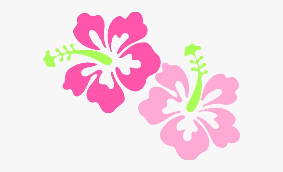 Transparent Background Hibiscus Clip Art #1987590.