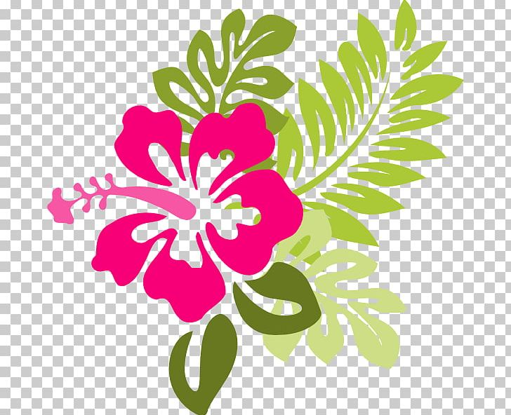 Hawaiian Flower PNG, Clipart, Artwork, Cartoon Hibiscus, Computer.