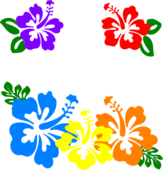 Hawaiian Flowers Clip Art & Hawaiian Flowers Clip Art Clip Art.
