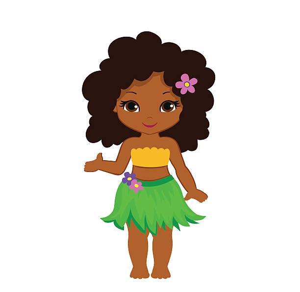 Best Hawaiian Girl Illustrations, Royalty.