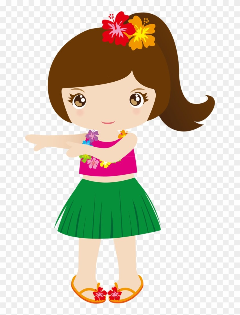 Hawaiian girl clipart » Clipart Portal.