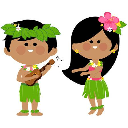 1,288 Hawaiian Girl Stock Vector Illustration And Royalty Free.