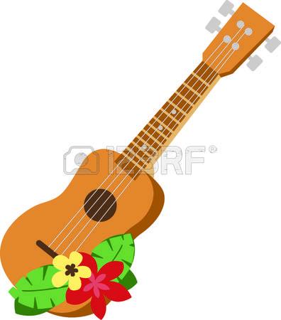 Hawaiian Guitar Clipart Clipground