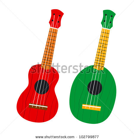 Hawaii Guitar Stock Images, Royalty.