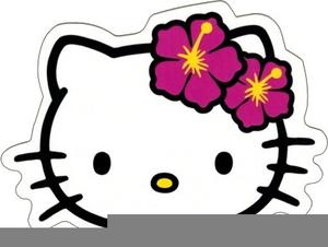 Hawaiian Hello Kitty Clipart.