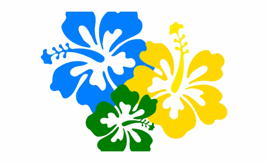 Flowers Vectors Clipart Hawaiian.