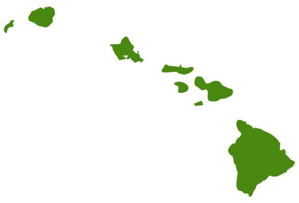 Best Hawaii Islands Illustrations, Royalty.