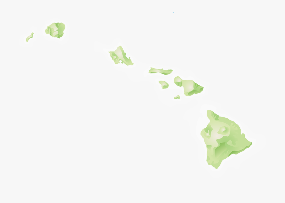 Hawaii Islands Png.