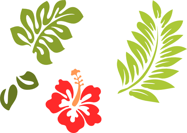 hawaiian stencils free.