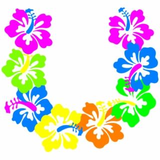 Hawaiian Leis Png.