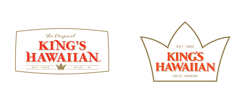 Brand New: New Logo and Packaging for King\'s Hawaiian by.