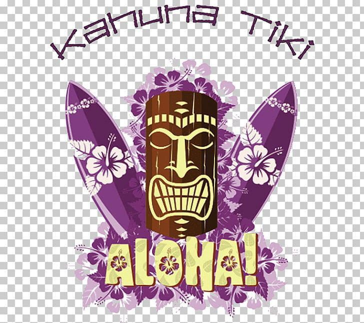 Tiki Surfing Hawaiian PNG, Clipart, Aloha, Brand, Graphic.