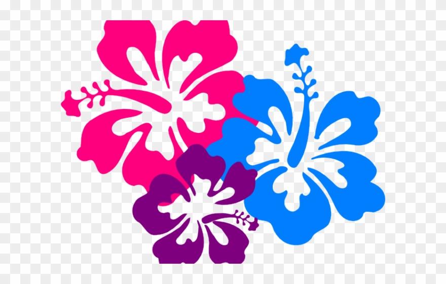 Hibiscus Clipart Luau.
