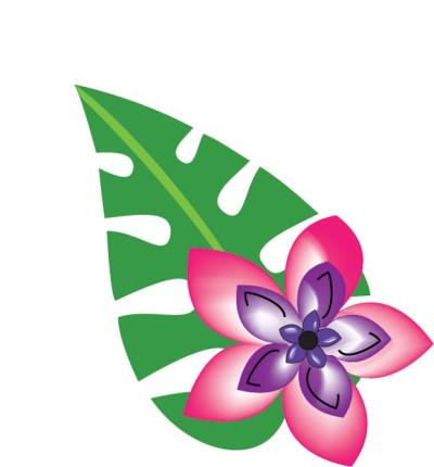 Hawaiian luau clip art free clipart images 3.