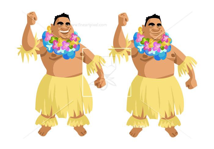 Hawaiian Man.