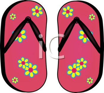 147 Flip Flop free clipart.