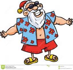 Similiar Santa Claus On Vacation Clip Art Keywords.