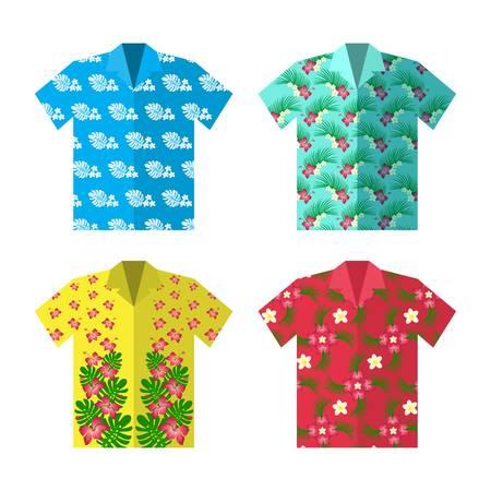 2,340 Hawaiian Shirts Stock Vector Illustration And Royalty Free.