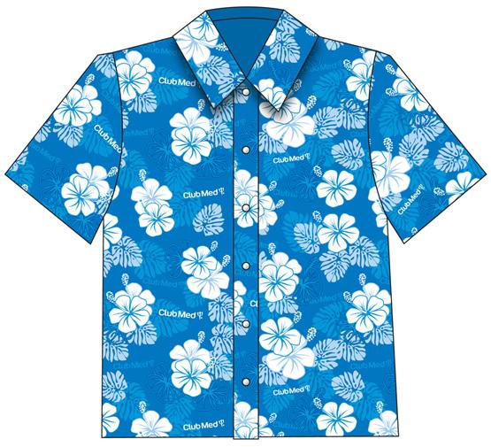 Best Hawaiian Shirt Clip Art #19395.