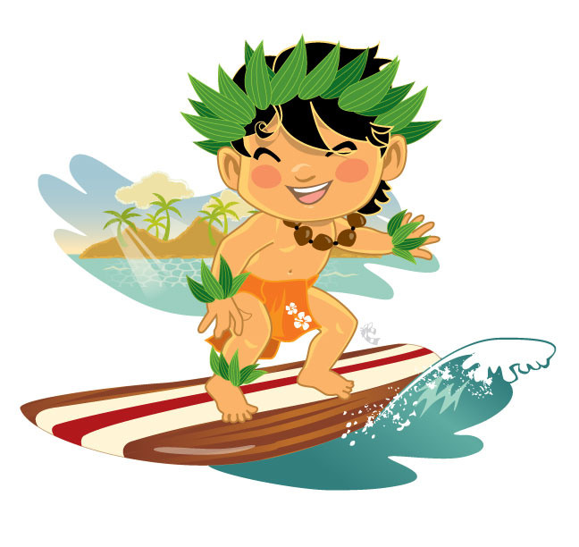 Free Hawaiian Surfer Cliparts, Download Free Clip Art, Free.