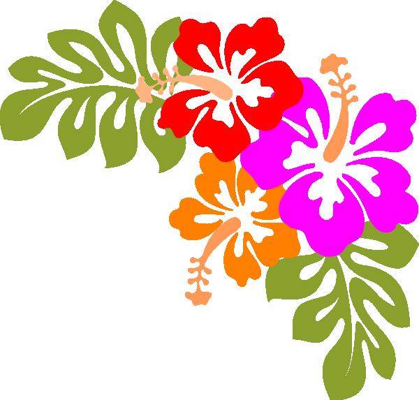 Hawaiian Party Clipart.