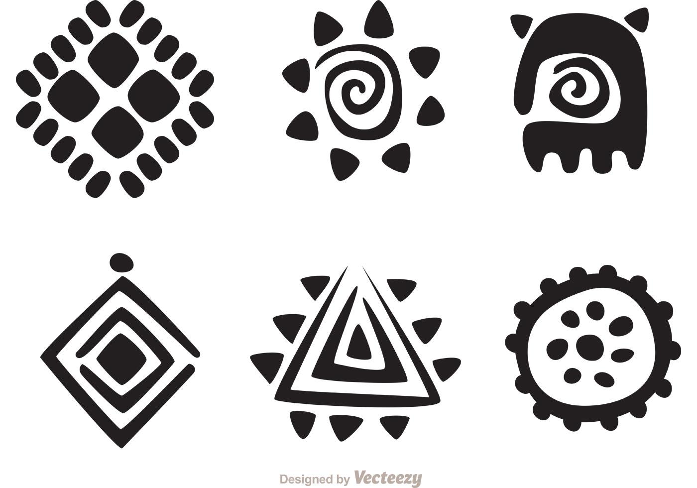 Hawaiian Tribal Free Vector Art.