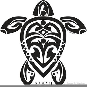 Hawaiian Tribal Clipart.