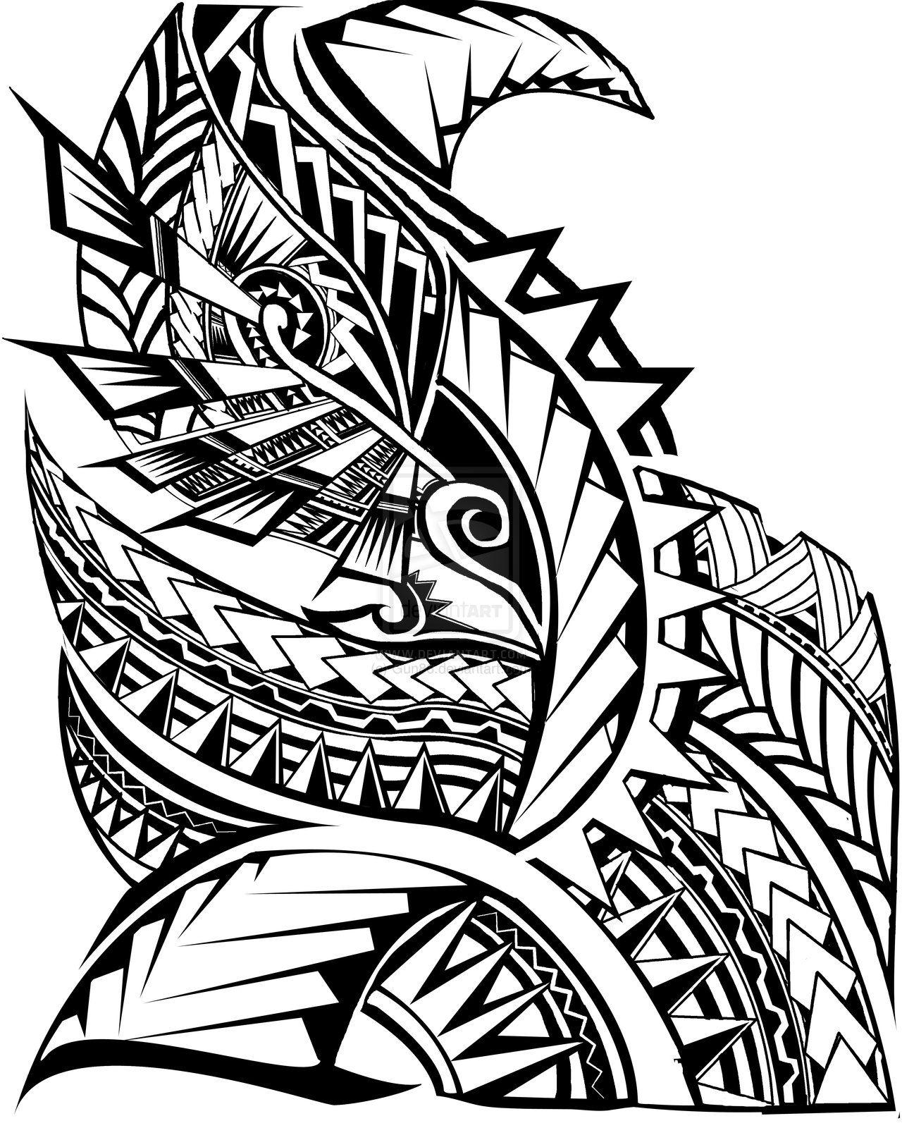 Pattern Clipart samoan 23.