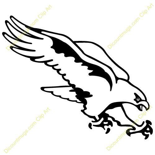 Hawk Stencil.