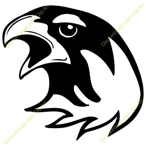 1237 Hawk free clipart.