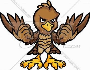 Image result for Hawk Mascot Clip Art Free in 2019.