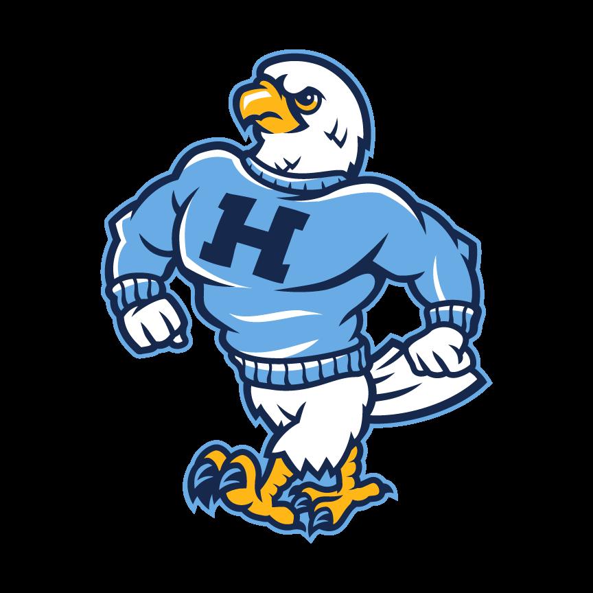 Hawk clipart mascot, Hawk mascot Transparent FREE for.