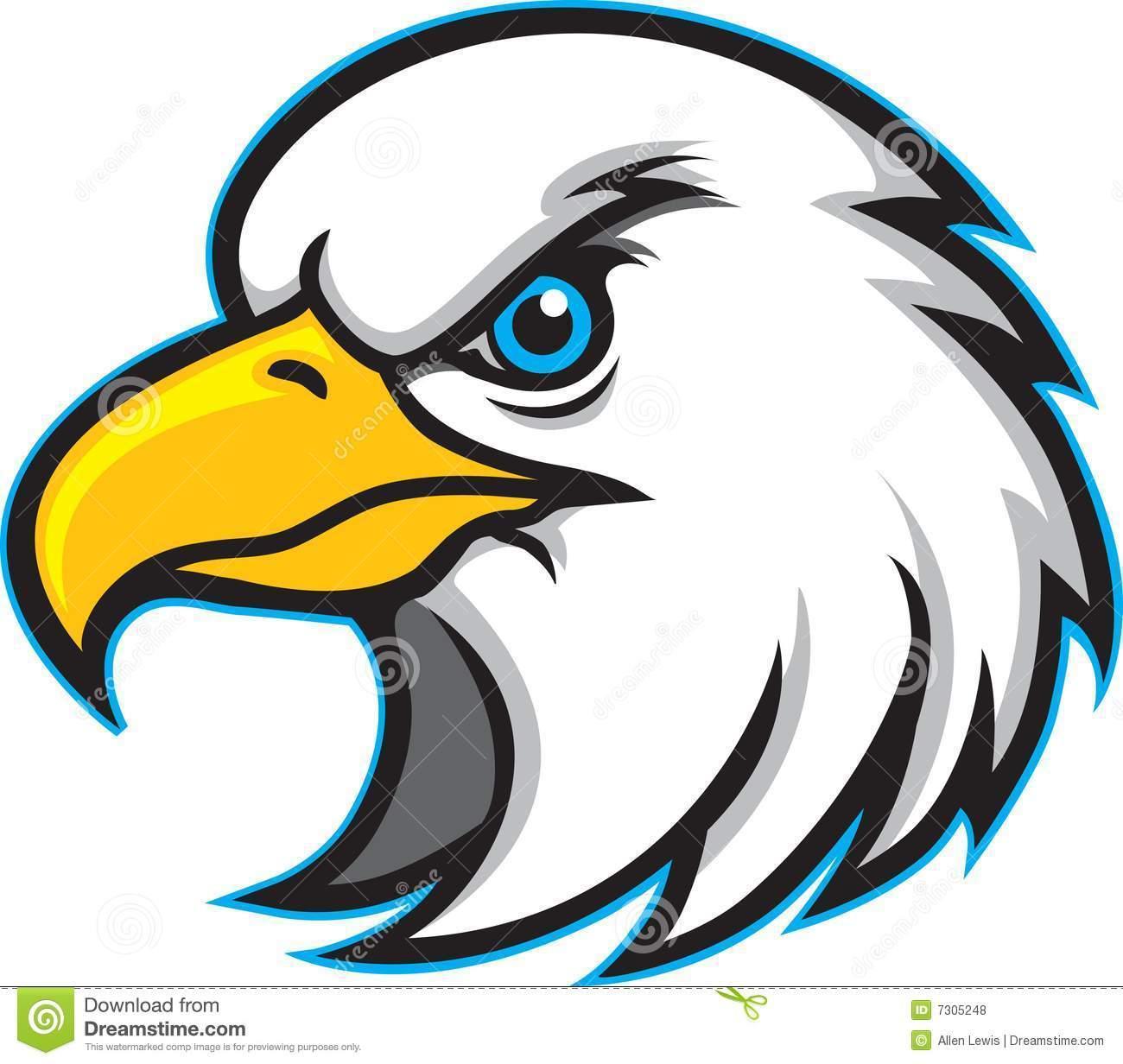 Free hawk mascot clipart 4 » Clipart Portal.