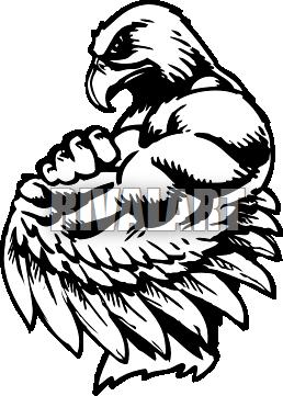 Image gallery hawk mascot clip art.