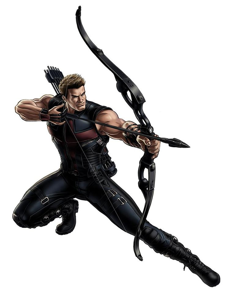 Hawkeye clipart.