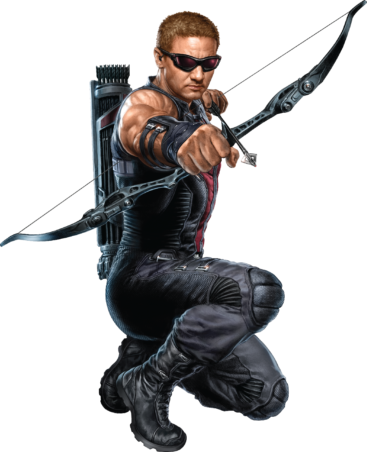 Hawkeye PNG Clipart.